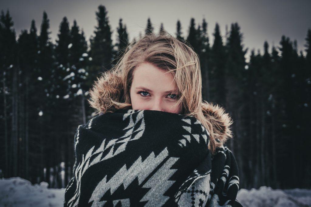 cuidar piel bajo el frio