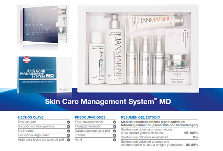 JanMarini skin care management system MD