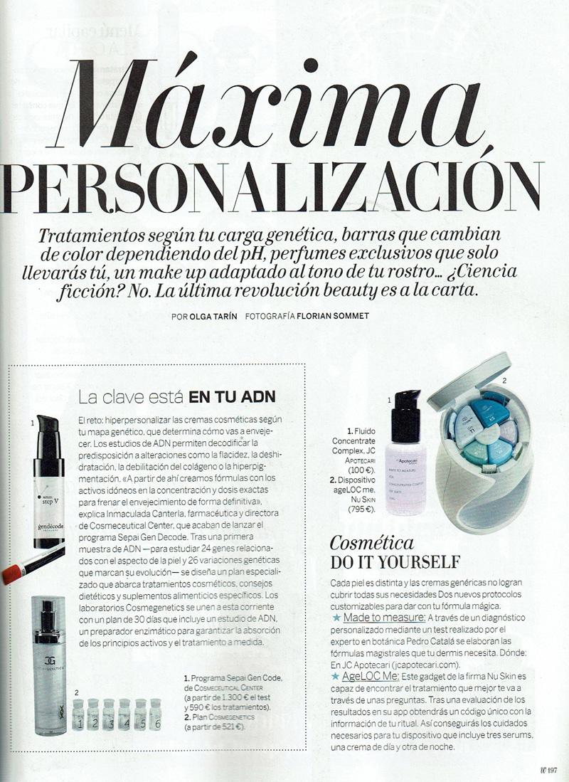 Cosmeceutical center y la prensa revista revista revista woman solutioingenieria Images