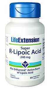 Super R-Lipoico 240mg - LIFE EXTENSION