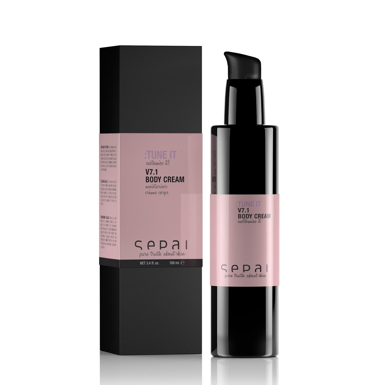 v7.1 Body Cream - SEPAI
