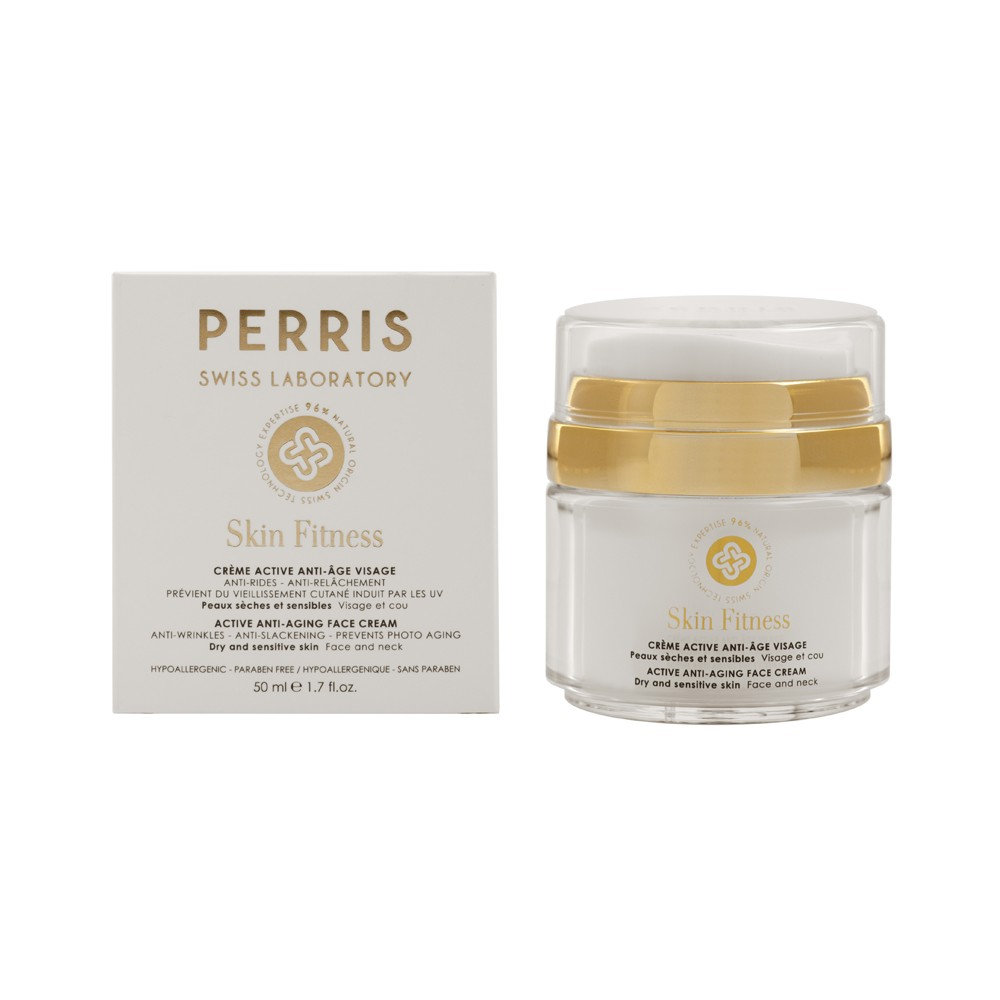 Active Antiaging Face Cream - PERRIS SKIN FITNESS
