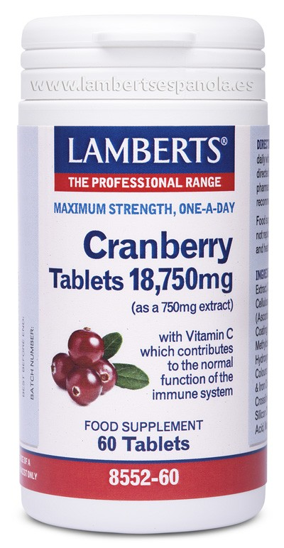Cramberry 18,750mg - LAMBERTS