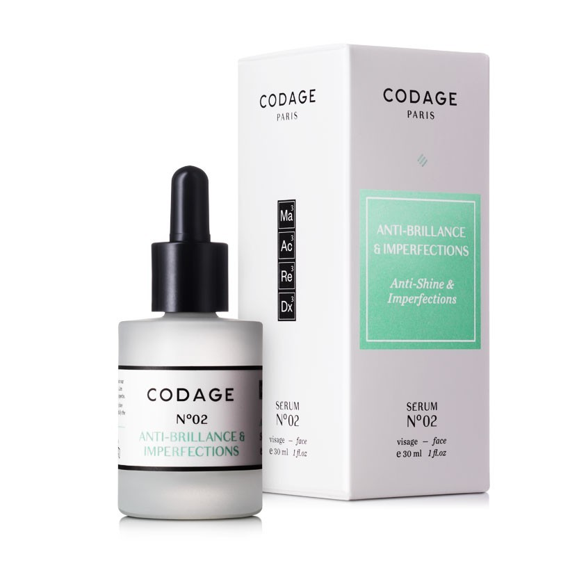 Serum N°2 - Anti-shine & Imperfections - CODAGE