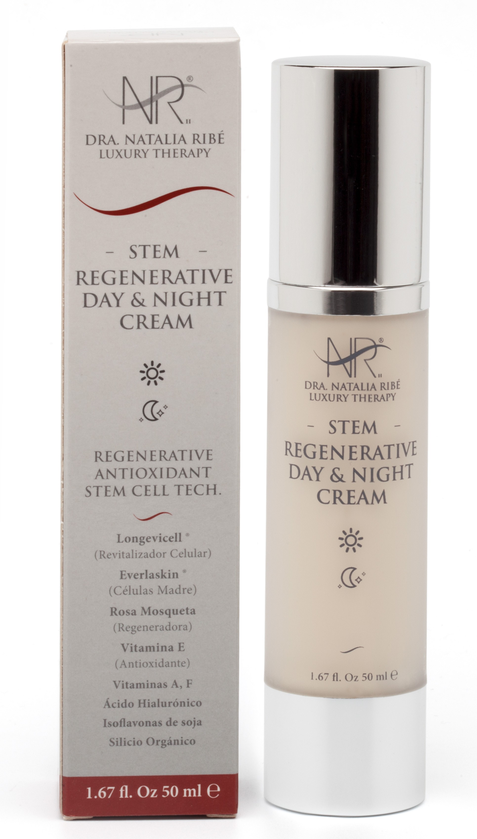 Stem Regenerative Day&Night Cream  - DRA. NATALIA RIBE