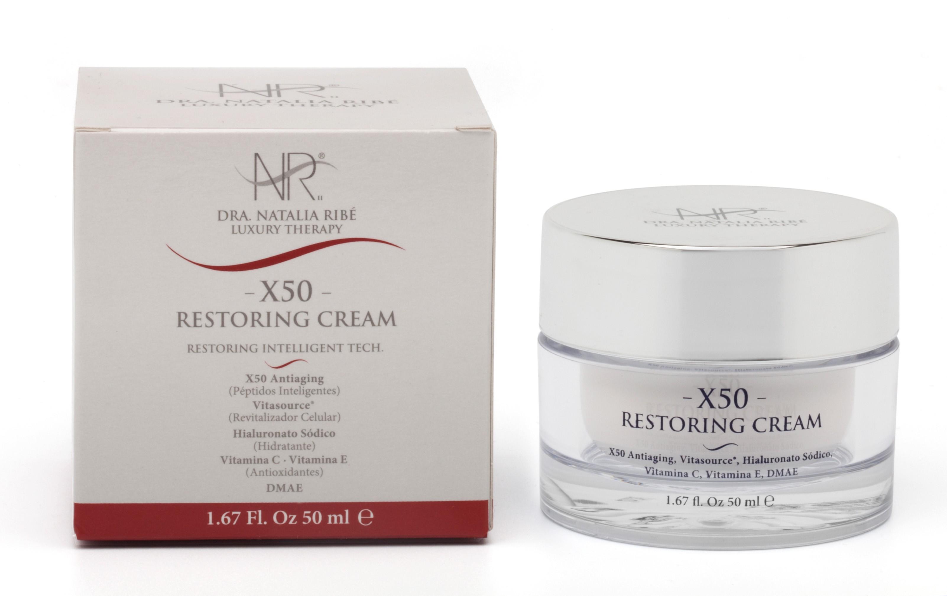 X50 Restoring Cream  - DRA. NATALIA RIBE