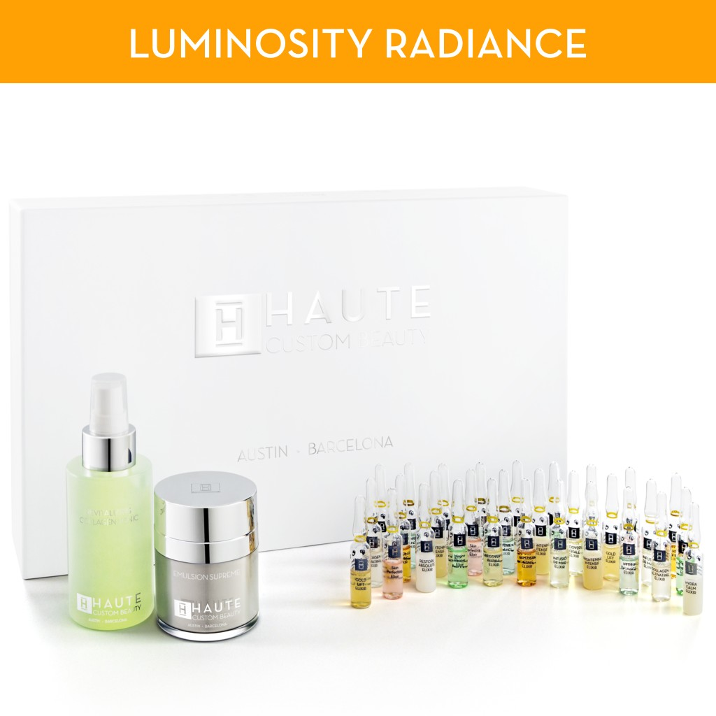 Luminosity Radiance Programme - HAUTE CUSTOM BEAUTY