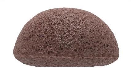 Konjac Facial Puff Sponge French Red Clay  - THE KONJAC SPONGE CO