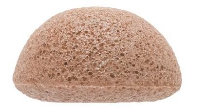 Konjac Facial Puff Sponge French Pink Clay - THE KONJAC SPONGE CO