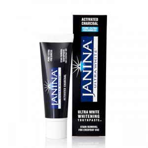 Janina Activated Charcoal Toothpaste