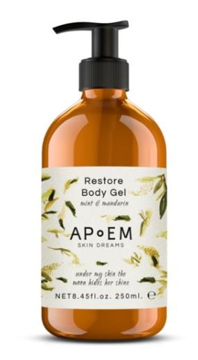 Restore Body Gel Mint & Mandarin - APOEM