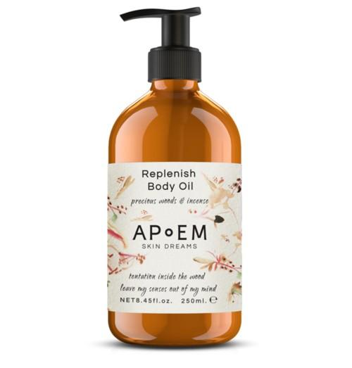 Replenish Body Oil Precious Woods & Incense - APOEM