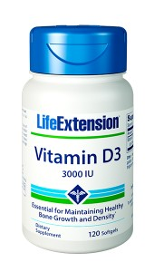Vitamin D3 3,000 IU - LIFE EXTENSION