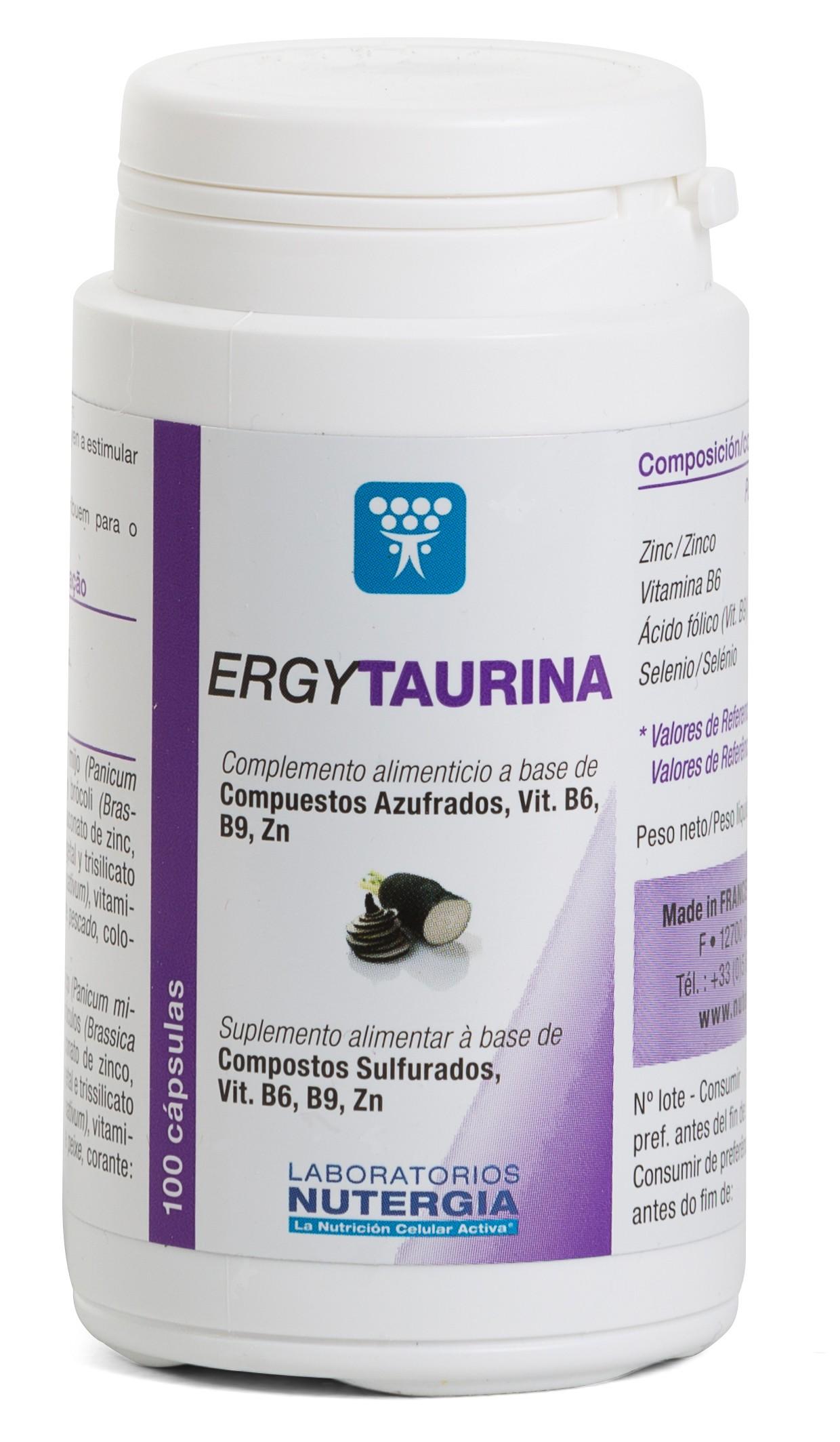 ErgyTaurina - NUTERGIA
