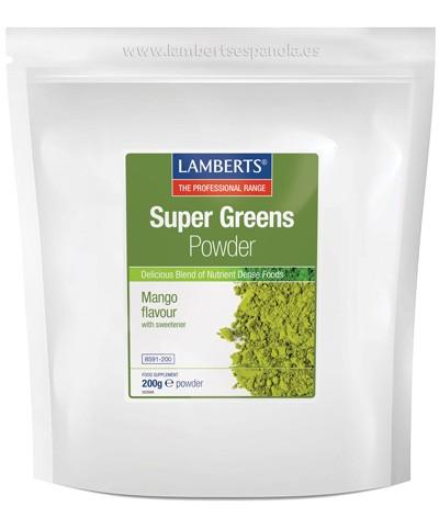 Super Greens Powder - LAMBERTS