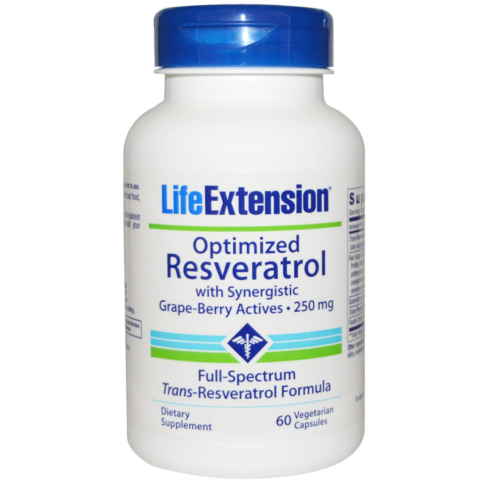 Optimized Resveratrol - LIFE EXTENSION